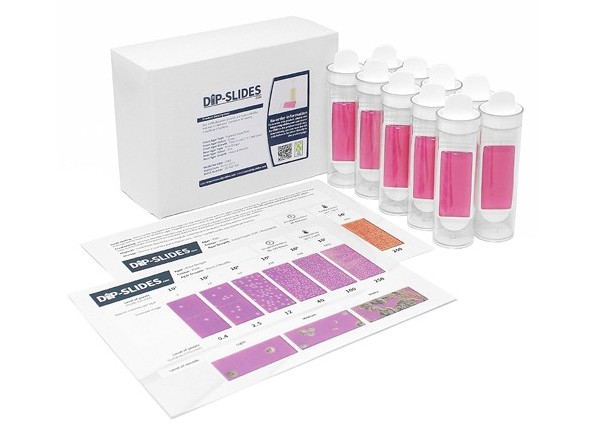 Cosmetic Dipslides : (Microbial Test Kit) - 10 Slides
