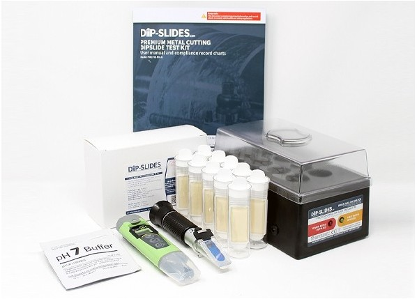 Premium Metal Cutting Fluid Bacteria & pH Tester Kit