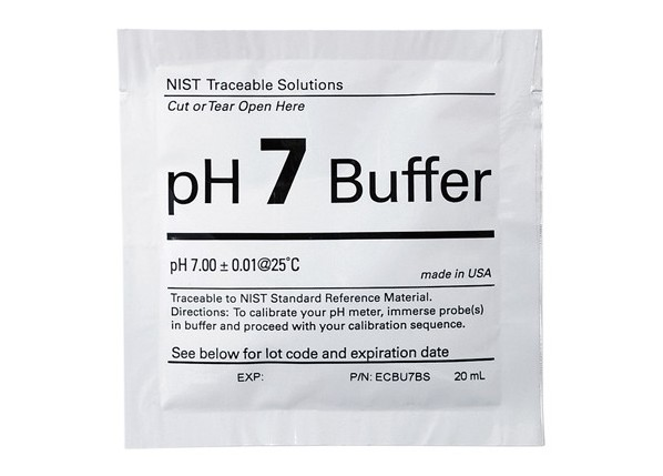 pH 7 buffer solution sachet