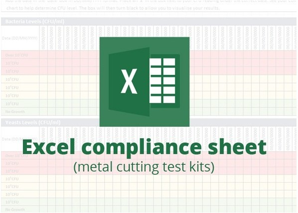 Metal cutting excel record sheet download