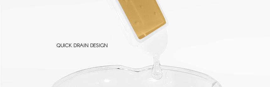 Quick drain design